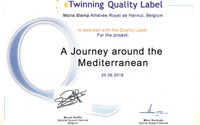 Projet eTwinning 'A Journey around the Mediterranean'